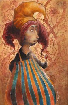 'Le Clown' by felix girard