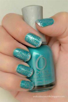 Nail Art Gallery - Orly with Konad