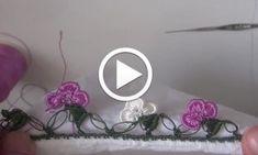 Tığ işi Fıstıklı Yazma Oyası Yapılışı Videolu Anlatım HD