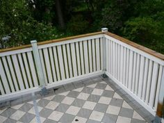 Also rather nice design for a deck railing.