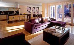 Cube Sofa & Coffee Table