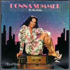 #OnTheRadio: #GreatestHits Volumes I & II, by #DonnaSummer, made her the first person ever to take three consecutive double albums to no. 1. This would become #Summer's third multi-platinum album. The album spans #Summer's career from her breakthrough, #LoveToLoveYouBaby right through to the more rock-influenced tracks of her #BadGirl #album. Each side, barring side D, runs as a continuous mix. The album came with a 24x32 full color poster. #Vinyl #LP