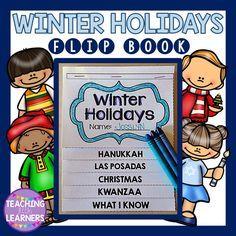 Winter Holidays: Hanukkah, Las Posadas, Christmas, Kwanzaa