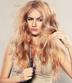 Home Remedies for Dry Coarse Hair - 8 steps (with images)