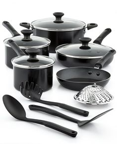 Tools of the Trade Nonstick 13-Pc. Cookware Set, Created for Macy's #kitchen #pots #ad
