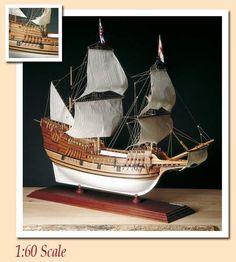 Amati Mayflower Wooden Ship Kits