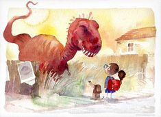 children's book illustration watercolor - Google Search