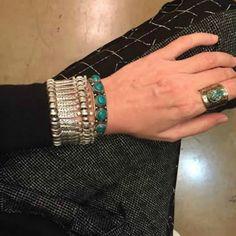 Basilica Bracelet - Silver - A Jewelry Wonderland  - 1