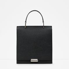 EMBOSSED CITY BAG | ZARA Canada