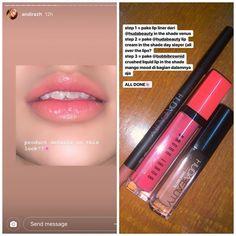 Beauty Make-up, Beauty Care, Beauty Skin, Makeup Set, Skin Makeup, Makeup Tips, Snapchat Makeup, Soft Natural Makeup, Ombre Lips