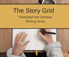 The Story Grid Translated Into Common Writing Terms | Story Grid #writingtips #amwriting