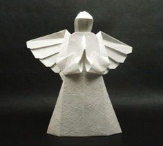 Little Angel origami tutorial manual diy - origami Daquan - beautiful line network (tutorial -> other pin)