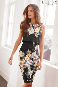 Buy Lipsy 2 in1 Print Dress from the Next UK online shop