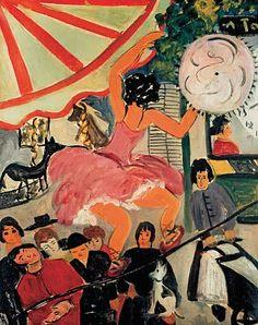 * La funambule 1927/29 tableau de Kiki