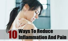 10 Ways To Inflammation And Pain