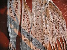 Linen språng scarfs by Carol James