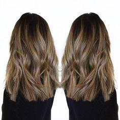 60 Gorgeous Blunt Cut Hairstyles – The Haircut That Works on Everyone - Haarschnitt Blunt Cut Long Hair, Blunt Haircut With Layers, Long Blunt Haircut, Trendy Haircut, Long Layered Haircuts, Blunt Cuts, Blunt Cut With Layers, Diy Haircut, Blunt Mid Length Hair