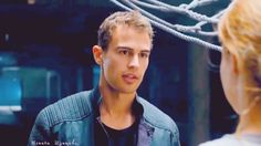 divergent | young and beautiful | tobias and tris