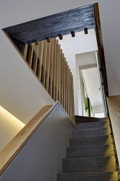 doska - zabradlie na schodoch