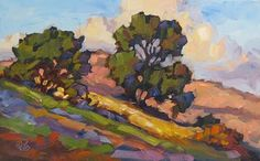 TOM BROWN FINE ART: CALIFORNIA IMPRESSIONIST PLEIN AIR PAINTING BY TOM BROWN