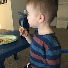 "I LOVE that my son loves my quiche!! He's one of those ""chicken nugget/pb sandwich or bust"" types so it's so rare that we get to eat the same foods. This is the second time this week he's seen me eating the quiche and demanded his own plate. Baby steps! #keto #toddlersofinstagram by lowcarb_highfab"