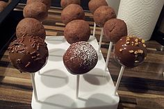 Schokoladen Cake-Pops (Rezept mit Bild) von Terpsychore | Chefkoch.de