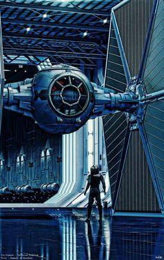 Tie Tie Fighter, The Wiz, Illustrators, Star Wars, Illustrator, Starwars, Illustrations, Star Wars Art