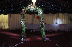 Flower Arch from Daisy & William's wedding