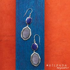 COLOR CRUSH: Lapis of Luxury Earrings