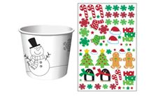 Christmas Kids Activity Paper Treat Cups