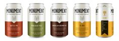 Monument City Brewing Company Beer Shows off the Brewery's Baltimore Roots — The Dieline | Packaging & Branding Design & Innovation News