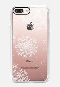 DANDY SNOWFLAKE Crystal Clear by Monika Strigel iPhone 7 Plus Case by Monika…