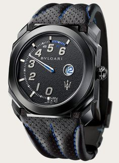 Maserati Teams up with Bulgari for Two New Watches, the $13K GranSport and the $31K GranLusso | American Luxury