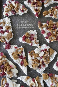 Cowgirl Cookie Bark