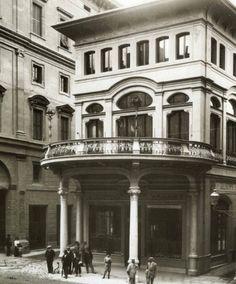 La palazzina Majani di via Indipendenza.  Archivio Fondazione Cassa di risparmio in Bologna