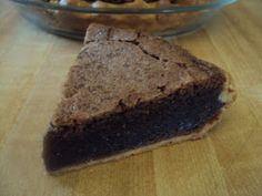 Flour Me With Love: Chocolate Fudge Pie. Sounds easy and creamy!!