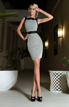 Inargentata dress from Visit website and enter code pin vm for discount off purchases. Fashion Sites, Yes To The Dress, Work Looks, Dressed To Kill, Classic Looks, Chic Outfits, Fashion Dresses, Visit Website, Style Inspiration