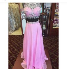 Prom Dresses,Evening Dress,Party Dresses,Prom Dresses,2 Piece Prom Gown,Two