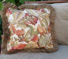 Polynesian Designs - Tropical Throw Pillow Antiqua, $50.00…