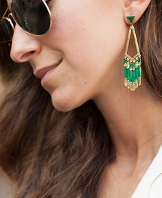 Draw attention with a single Nicole Romano earring. Accessorize your look with earrings like this and more by shopping on eBay.