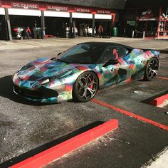 """The @staplepigeon #Ferrari #458 on #Forgiatos by @mrwheels"""