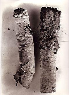 Irving Penn Cigarette butts