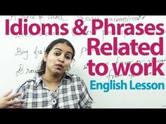 English Grammar Lessons - Business English -  Idioms, and Phrases -  Vocabulary Lesson ( ESL )