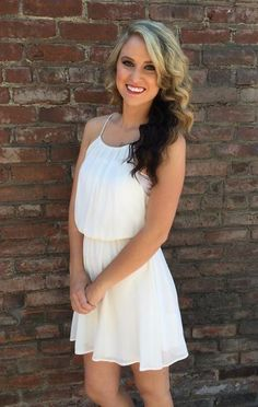 Every gal needs the perfect white dress! Well we've found it!