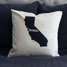 California Home Pillow Cover