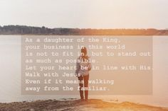 I am the daughter of the King of kings