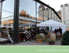 COPENHAGEN Torvehallerne (indoor food market and a great spot for breakfast, coffee and lunch next to Norreport)