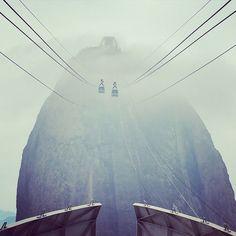 #sugarloaf #riodejaneiro #fog #riodejaneiro #cloudy #epic #instagram #awesome #lucky #wow Photo And Video, Instagram, Videos, Photography, Photograph, Fotografie, Photoshoot, Fotografia