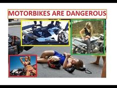 Motorcycle Crash Compilation. Bikes are DANGEROUS.  [WARNING]