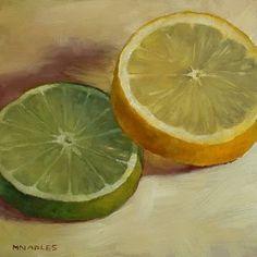 """MICHAEL NAPLES: """"Lemon Lime Slices"""""""